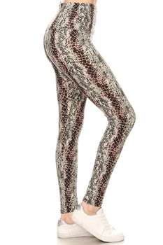 Picture of Mad As A Snake Premium 5-Inch Yoga Leggings