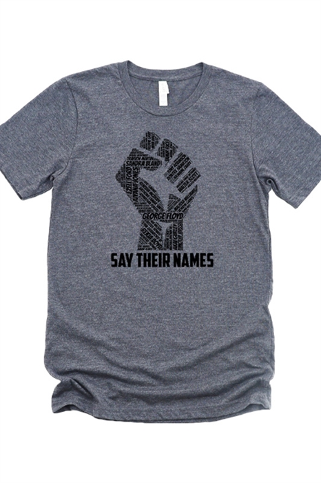 Picture of Say Their Names Graphic Tee