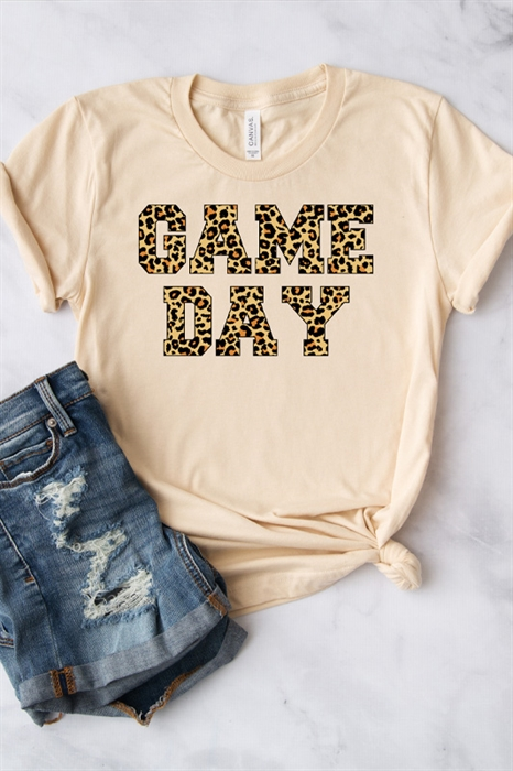 Picture of Leopard Game Day Graphic Tee