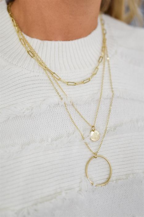 Picture of A Perfect Circle Necklace