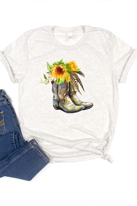 Picture of Boots Graphic Tee