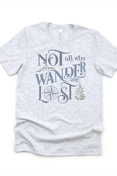 Picture of Not All Who Wander Graphic Tee