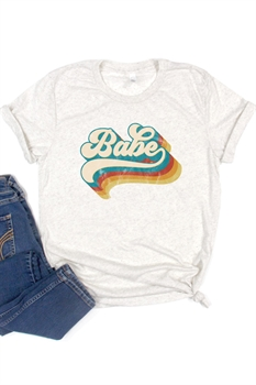 Picture of Babe Graphic Tee