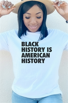 Picture of Black History is American History Graphic Tee