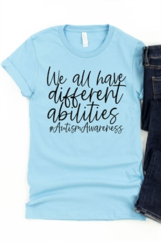 Picture of Different Abilities Graphic Tee