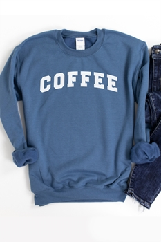 Picture of COFFEE Graphic Sweatshirt