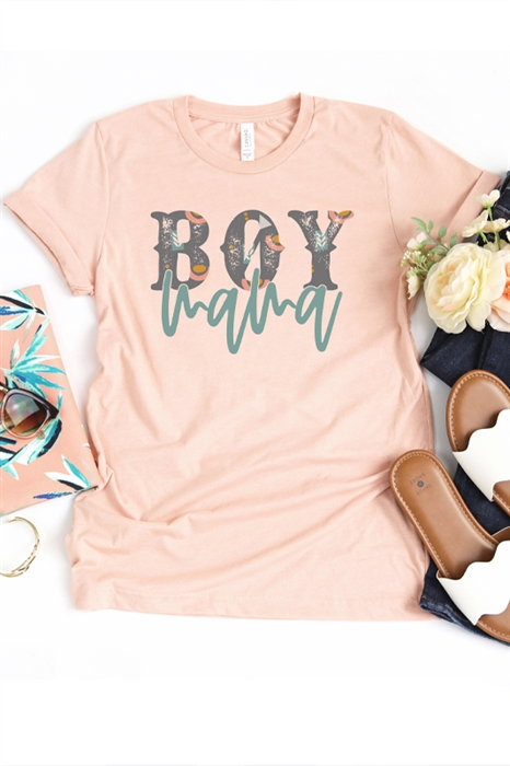 Picture of Boy Mama Graphic Tee