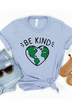 Picture of Be Kind Earth Graphic Tee