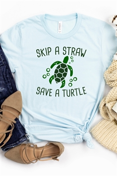 Picture of Skip A Straw Graphic Tee