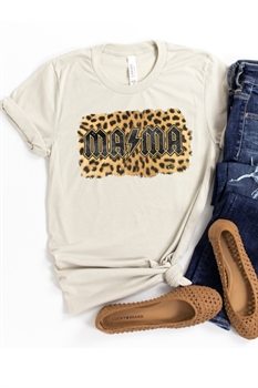 Picture of Mama Leopard Bolt Graphic Tee