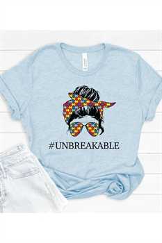 Picture of Unbreakable Graphic Tee