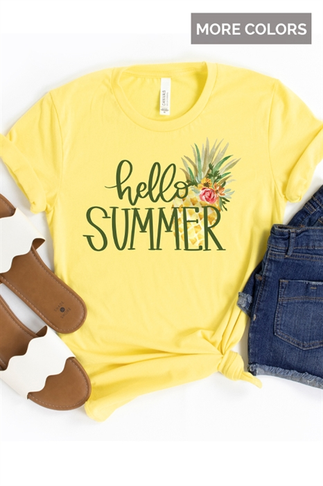 Picture of Hello Summer Graphic Tee