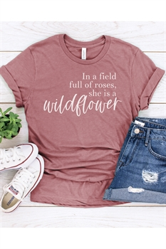 Picture of Field of Roses Graphic Tee