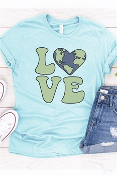 Picture of Earth Love Graphic Tee