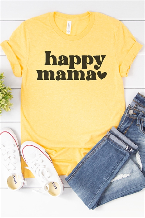Picture of Happy Mama Graphic Tee
