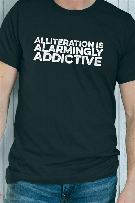 Picture of Alliteration Graphic Tee