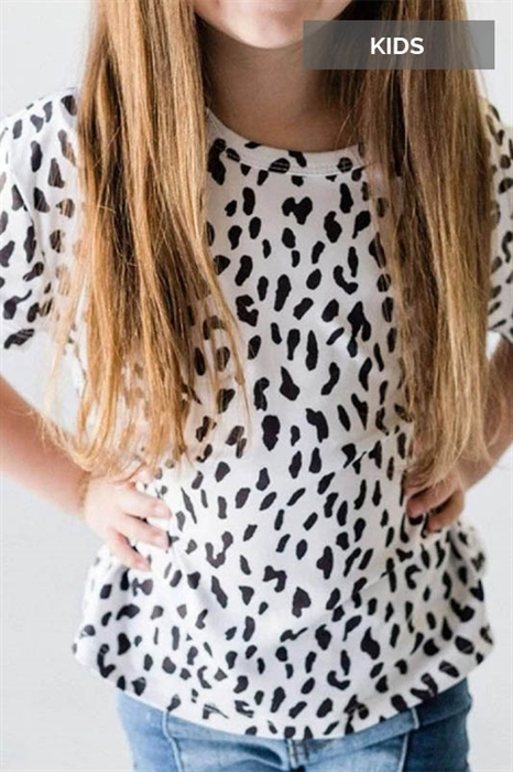 Picture of Youth Karleigh Leopard Tee