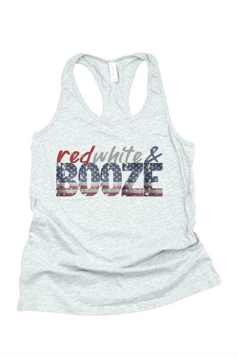 Picture of Red White and Booze Graphic Tank