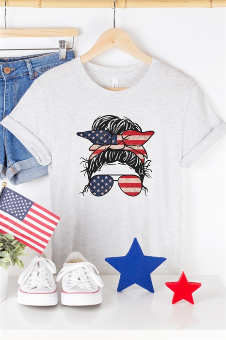 Picture of American Mama Graphic Tee
