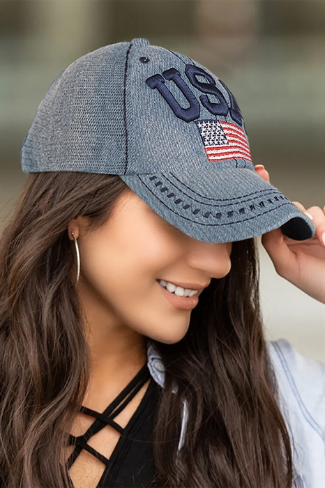 Picture of USA Flag Hat
