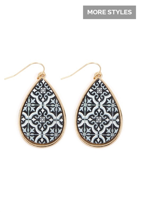 Picture of Wood Earrings
