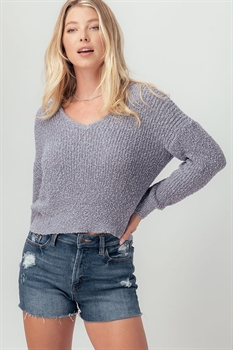 Picture of Open Back Sweater