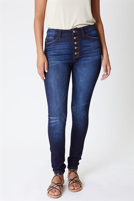Picture of Curvy Fit Super Skinny KanCan Jeans