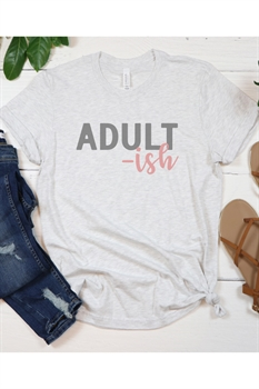 Picture of Adult-ish Graphic Tee