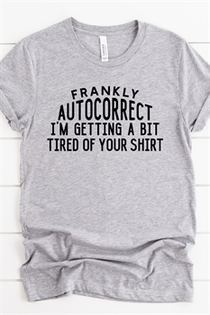Picture of Autocorrect Graphic Tee