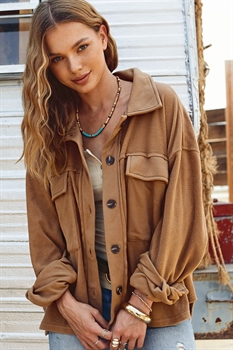 Picture of Carrie Button Up Jacket